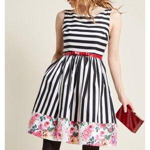 Modcloth Miss Mix-It A-Line Dress